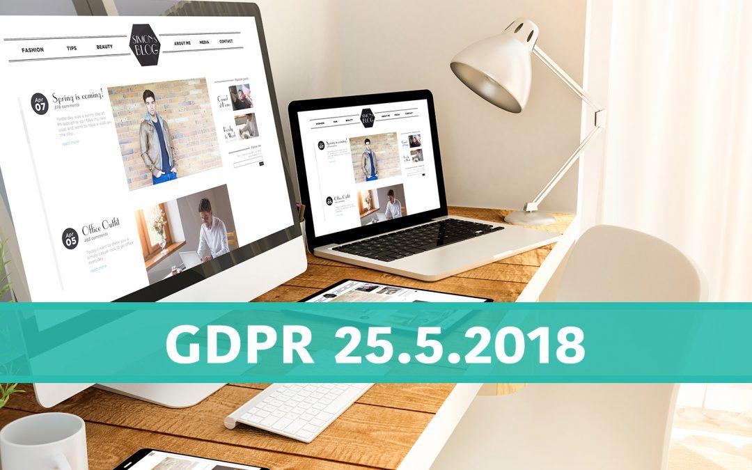 Co znamená GDPR pro váš web