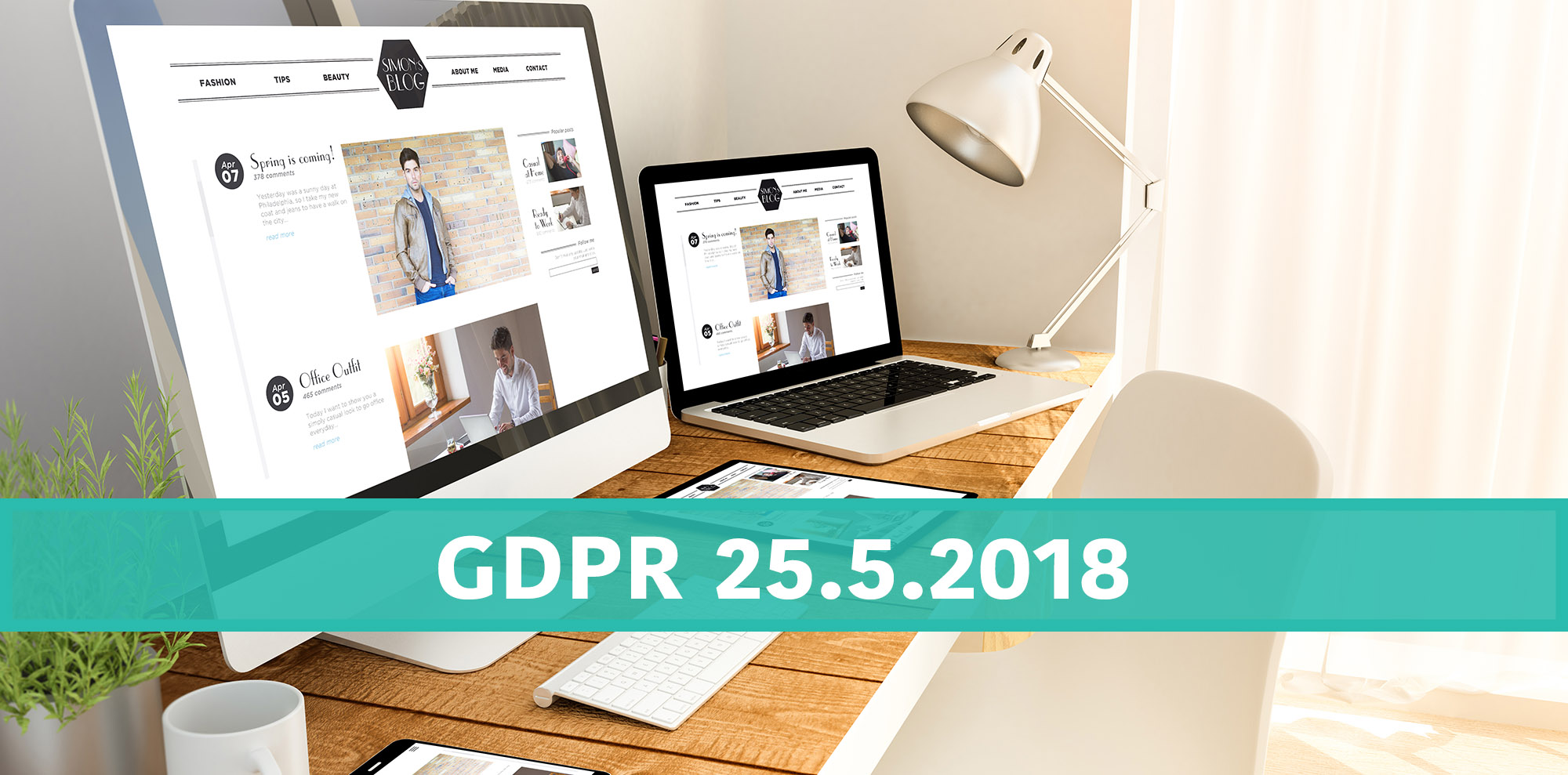 Začněte s implementací GDPR na vašem webu